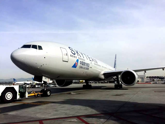 南航飞机wifi