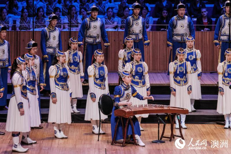 冈瓦纳世界合唱节21日闭幕 中国少年唱响悉尼歌剧院
