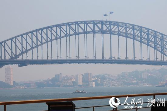 澳报告:火灾烟雾笼罩悉尼 空气质量恶化三倍