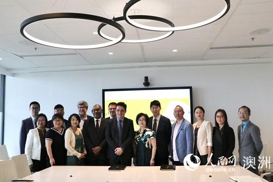 浙江传媒学院与悉尼新南威尔士大学及人民网澳大利亚公司签订合作协议