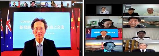 中国驻悉尼总领事顾小杰鼓励侨胞及留学生科学应对疫情